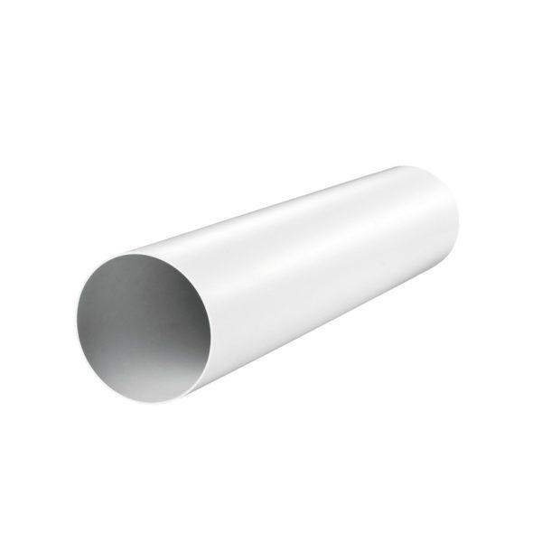 Канал (воздуховод) круглый 2015 d=125 мм (1,5 м), пластик