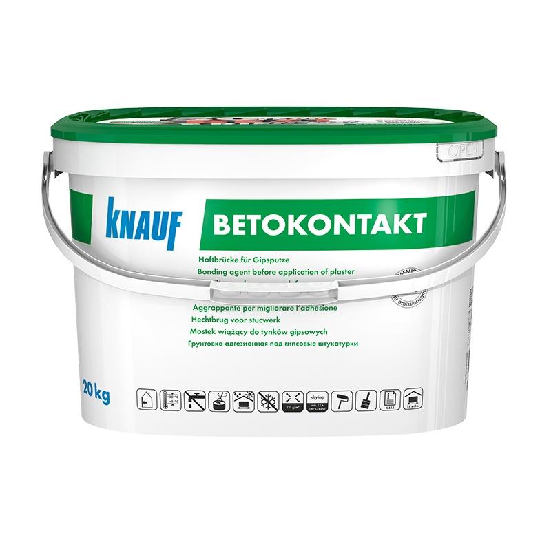 Бетоконтакт грунтовка для гипсовых штукатурок (20 кг)
