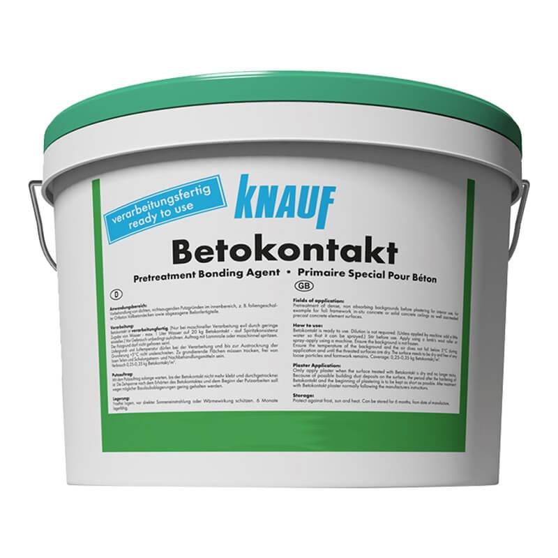 Бетоконтакт грунтовка для гипсовых штукатурок (5 кг)