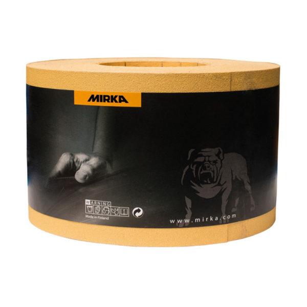 Бумага шлифовальная Мирокс 115 мм Р80 рулон 50 м