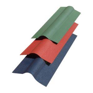 Коньковый элемент Смарт 1000 мм зеленый