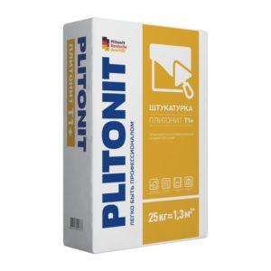 Штукатурка Плитонит Т1+ с водоотталкивающими свойствами, 25 кг