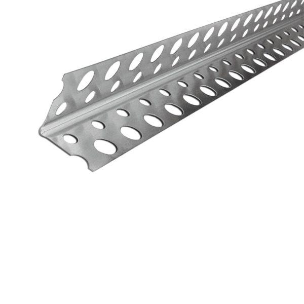 Профиль углозащитный алюминиевый 20x20 мм 3 м