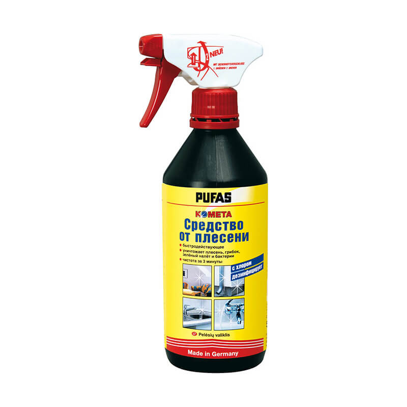 Средство для удаления плесени с хлором Schimmel-Spray (0,5 л)