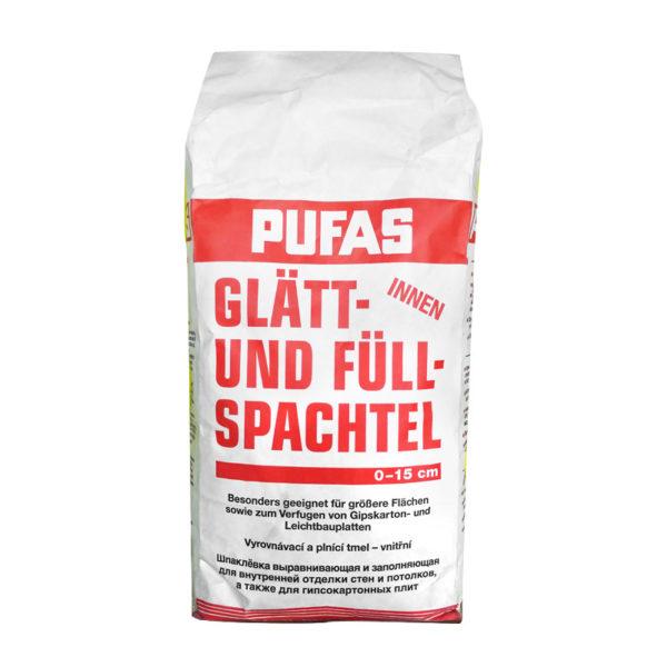 Шпаклёвка гипсовая Pufas N3 Glatt und Fullspachtel, 5 кг