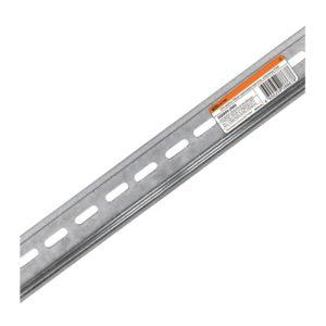 DIN-рейка оцинкованная L=30 см (17 модулей)