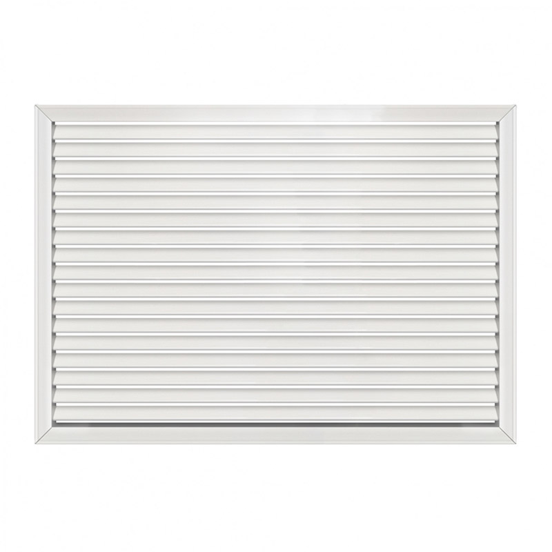 Решетка радиаторная 900x600 мм, белая