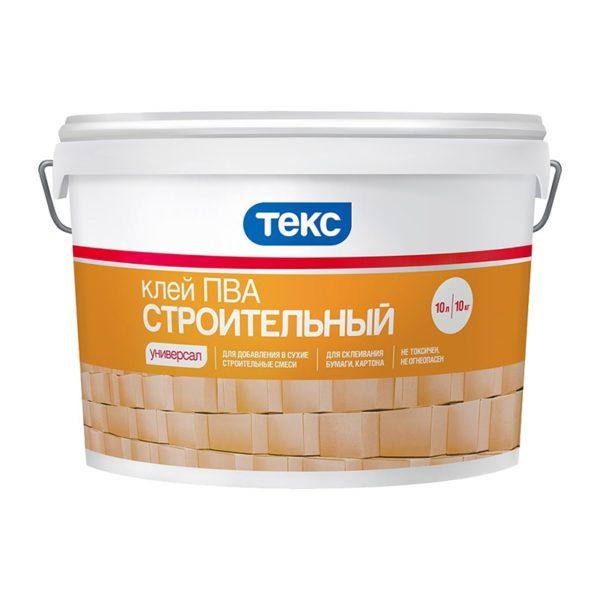 Клей ПВА строительный ТЕКС Универсал (10 кг)