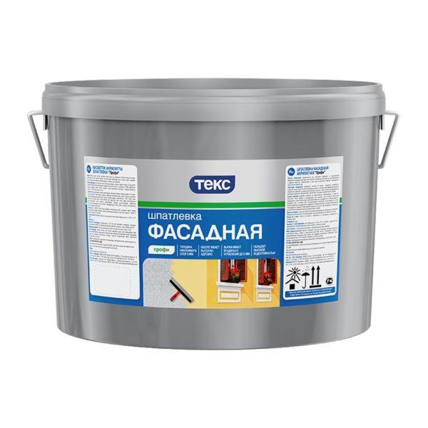 Шпаклёвка фасадная Профи акрилатная (16 кг)