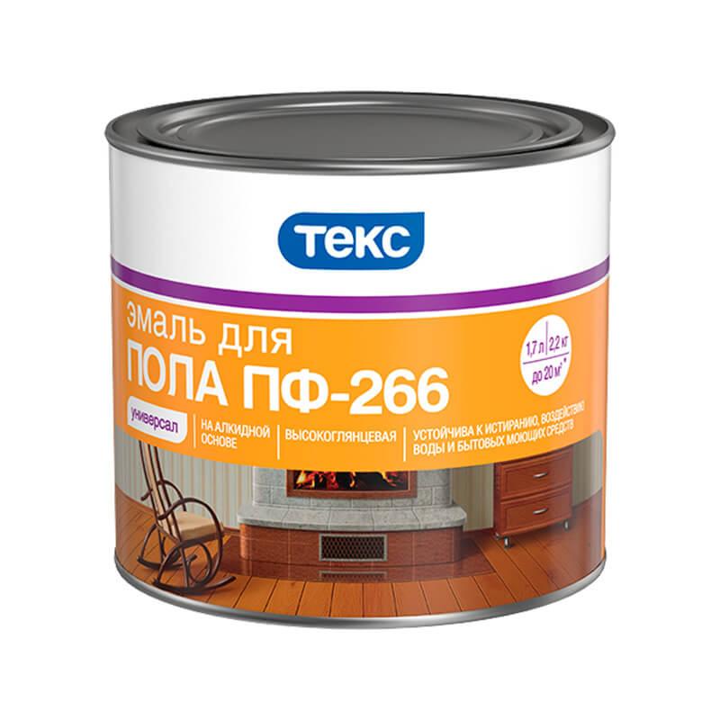 Эмаль для пола ПФ-266 Универсал жёлто-коричневая (2,2 кг)