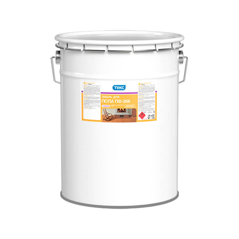 Эмаль для пола ПФ-266 Универсал жёлто-коричневая (22 кг)
