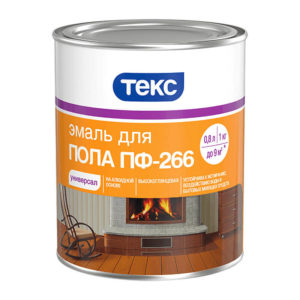 Эмаль для пола ПФ-266 Универсал золотисто-коричневая (1 кг)