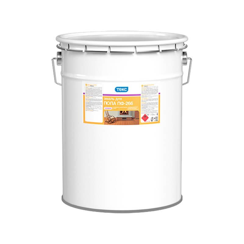 Эмаль для пола ПФ-266 Универсал золотисто-коричневая (22 кг)
