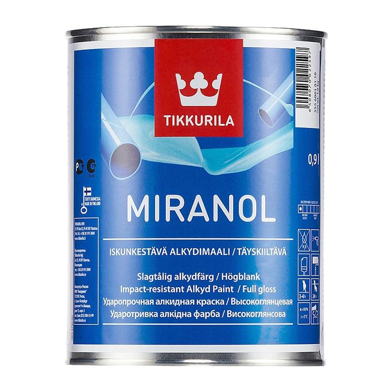 Краска алкидная тиксотропная Miranol А (0,9 л)
