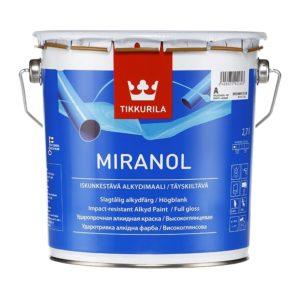 Краска алкидная тиксотропная Miranol А (2,7 л)