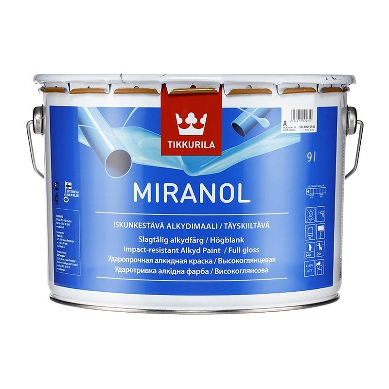 Краска алкидная тиксотропная Miranol А (9 л)