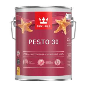 Краска алкидная универсальная Pesto 30 A полуматовая (2,7 л)