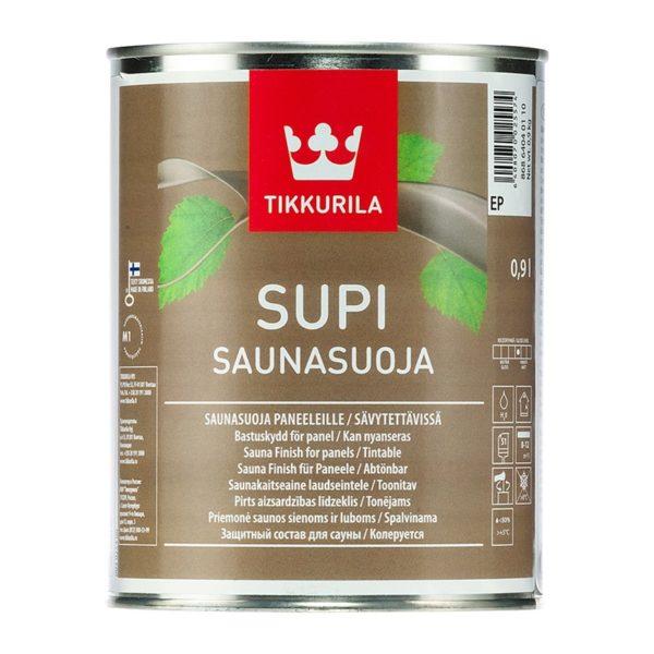 Защитный состав для саун Supi Saunasuoja полуматовый (0,9 л)