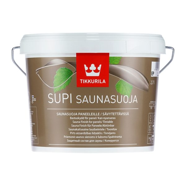 Защитный состав для саун Supi Saunasuoja полуматовый (2,7 л)