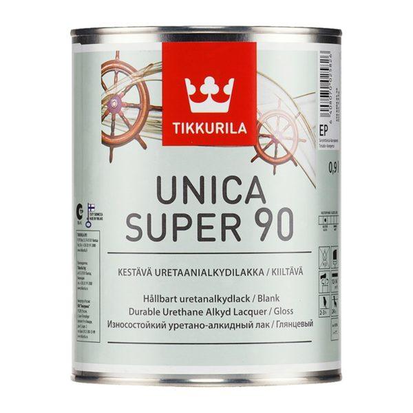 Лак универсальный Unica Super 90 EP глянцевый (0,9 л)
