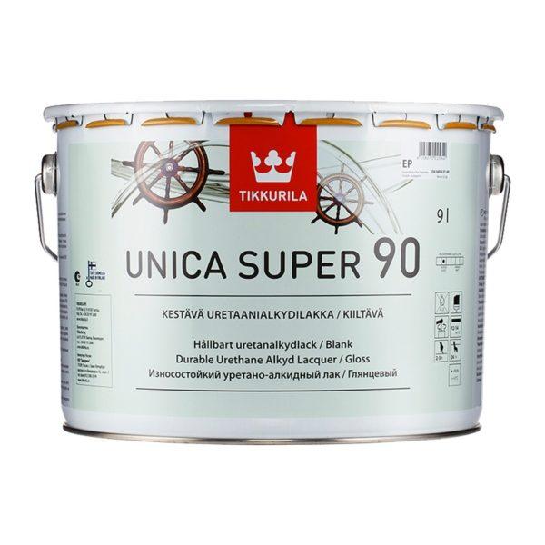 Лак универсальный Unica Super 90 EP глянцевый (9 л)