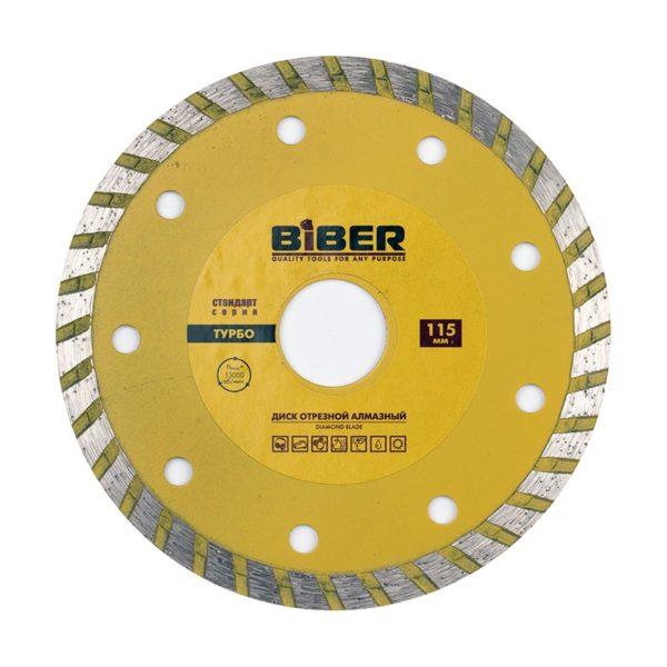 Диск алмазный Biber 70202 Турбо Стандарт 115 мм