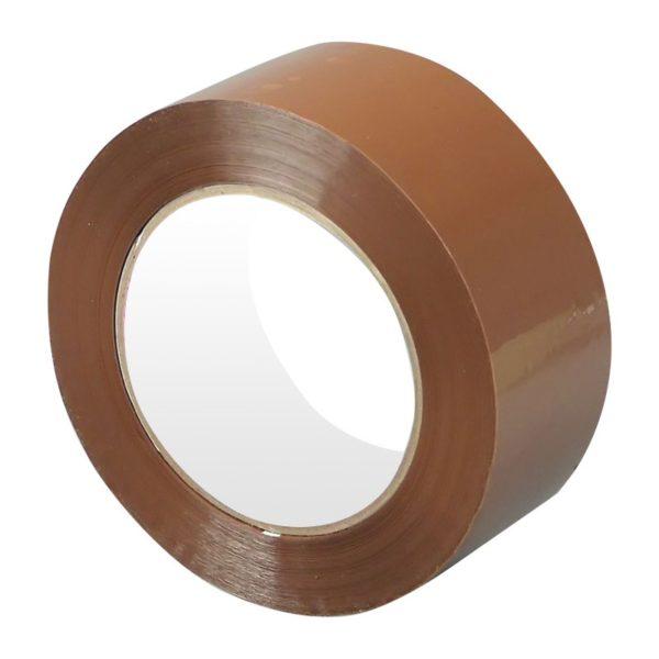 Скотч 50 мм коричневый 40мкм (57 м)