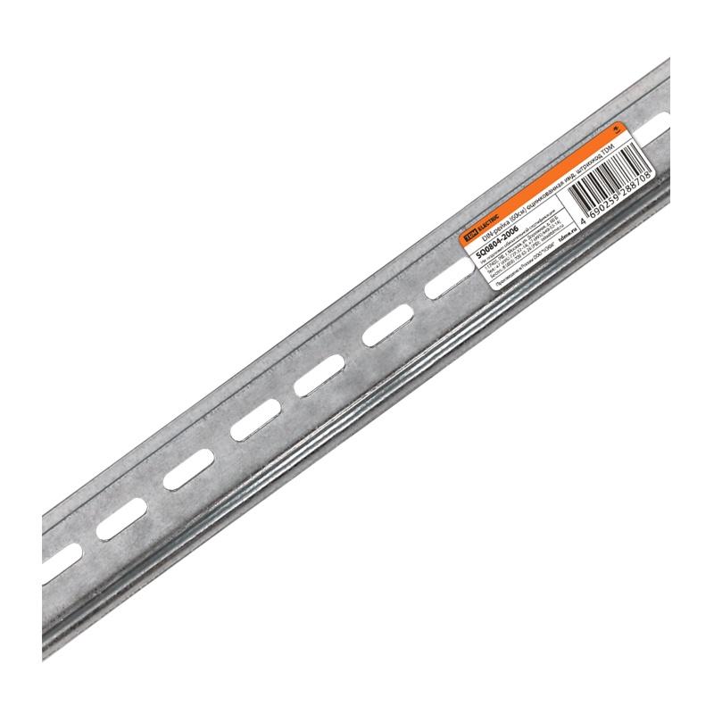 DIN-рейка оцинкованная L=60 см (34 модуля)