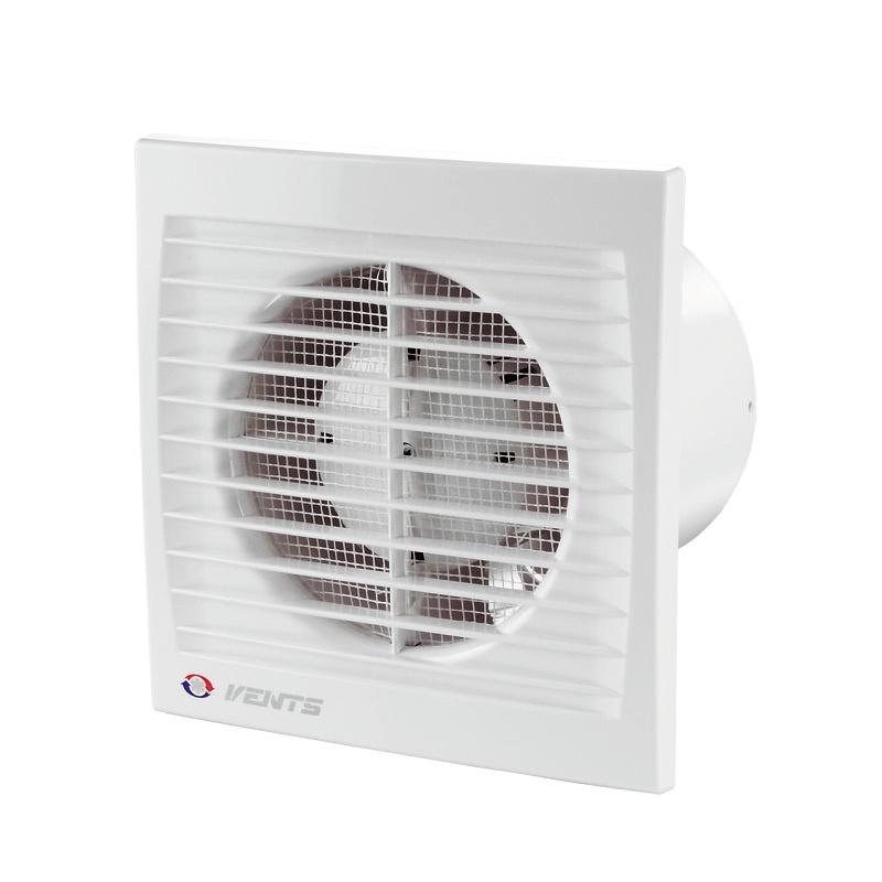 Вентилятор вытяжной Вентс 100 СК 95 м3/ч с клапаном