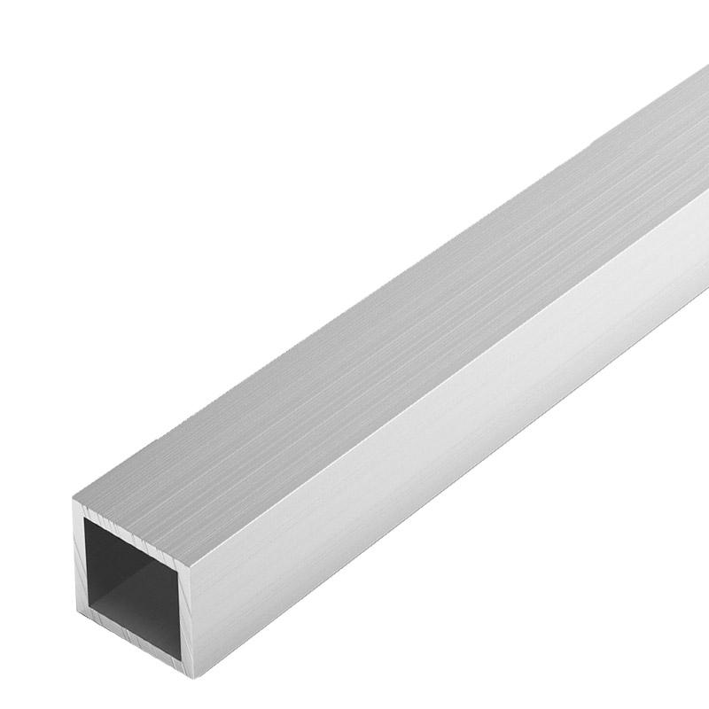 Труба квадратная алюм., 20x20x1,5 мм, 2 м