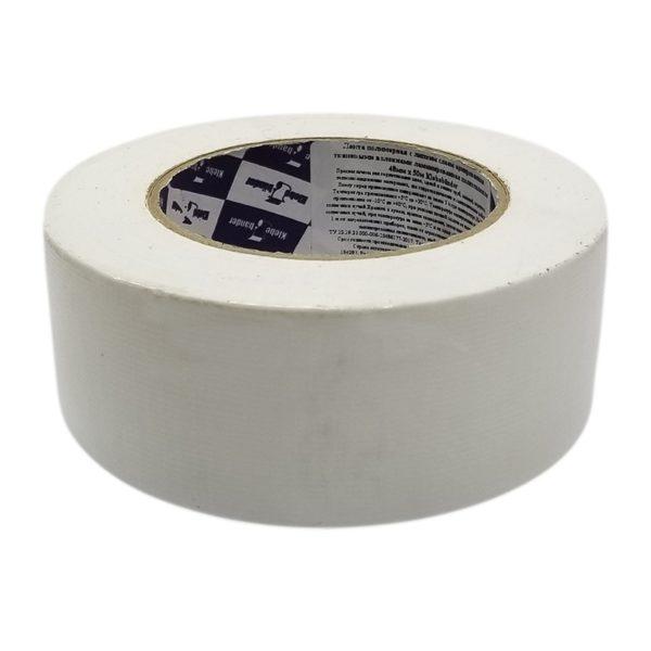 Лента клейкая 50 мм TPL белая сантехническая (50 м)