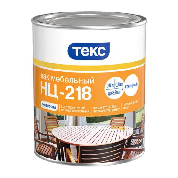 Лак мебельный НЦ-218 Универсал (0,8 кг)