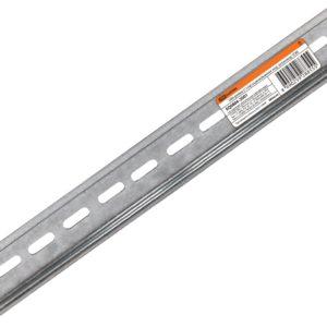 DIN-рейка оцинкованная L=11 см (6 модулей)