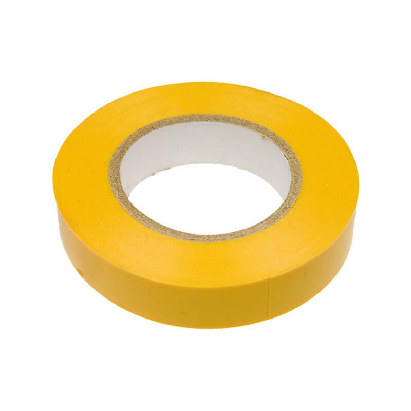 Изолента ПВХ 15 мм желтый (20 м)