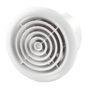 Вентилятор вытяжной Вентс 100 ПФ 98 м3/ч с москитной сеткой