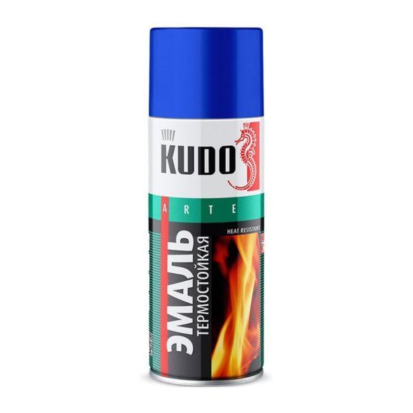 Эмаль термостойкая KU-5002 чёрная (0,52 л)