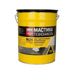 Мастика битумная гидроизоляционная №24 (МГТН), 20 кг