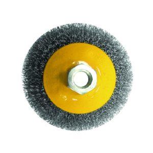 Щетка-крацовка дисковая 115 мм, М14 для УШМ