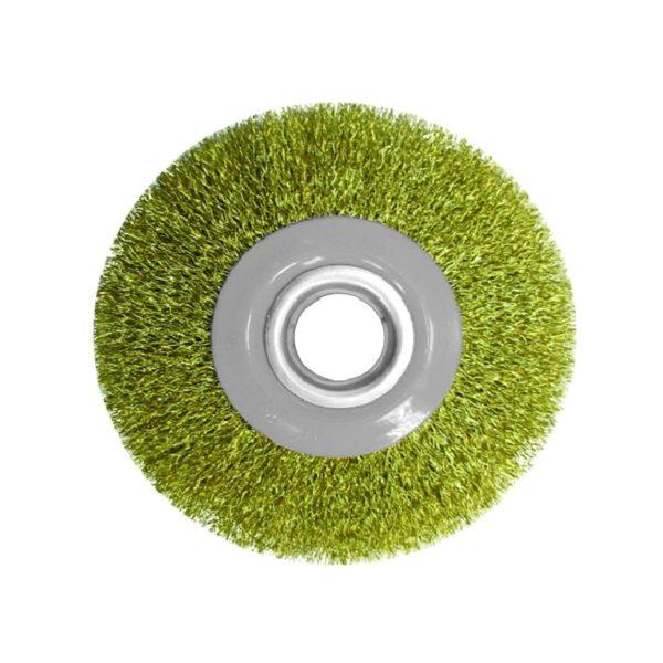 Щетка-крацовка дисковая 200 мм с комплектом переходников