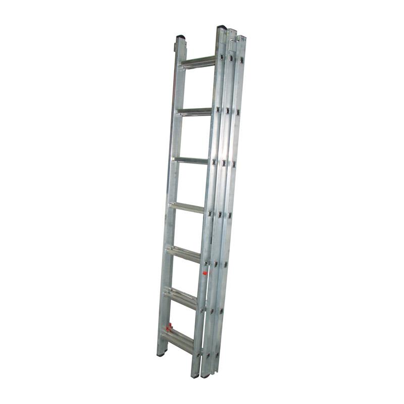 Лестница универсальная Biber 98211 3-х секционная 11 ступеней