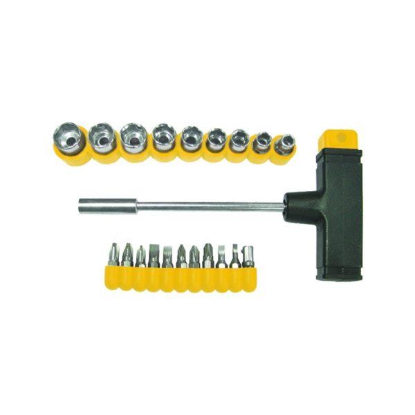 Отвертка Biber 85553 с Т-образной ручкой (20 предметов)