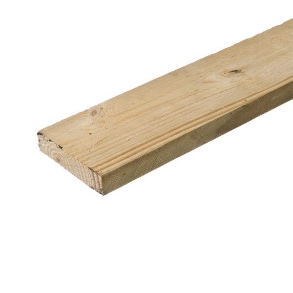 Доска обрезная деловая, е/в.хв/п. 50x150x6000 мм
