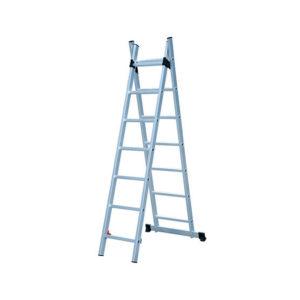 Лестница универсальная Biber 98427 2-х секционная 7 ступеней