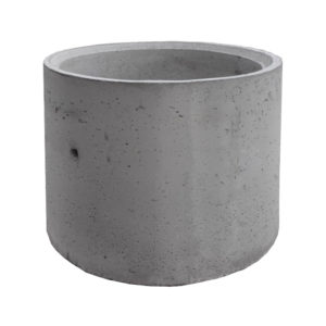 Кольцо сквозное ж/б 1160x900 мм (внутренний диаметр 1000 мм)