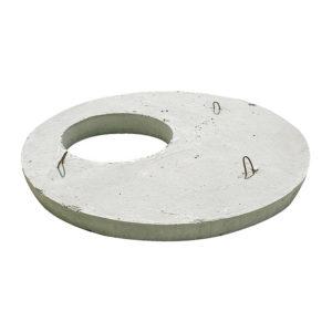 Крышка колодца ж/б 1160x150 мм (диаметр отв. 600 мм)