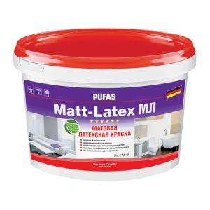 Краска в/д Matt-Latex D моющаяся латексная (5 л)