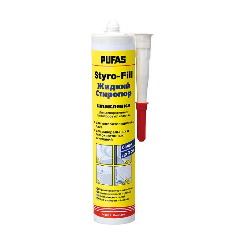 Стиропор жидкий PUFAS Styro-Fill белый (0,31 л)