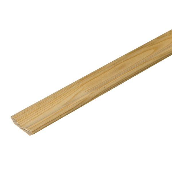 Плинтус деревянный клееный 40x2500 мм