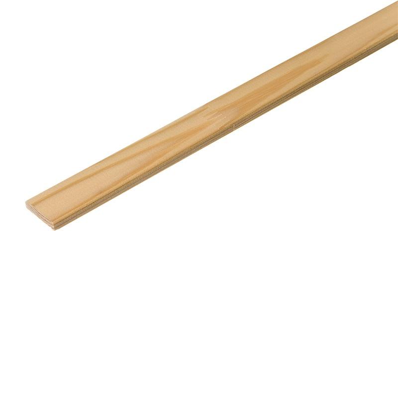 Раскладка деревянная, гладкая клееная, 40x2500 мм