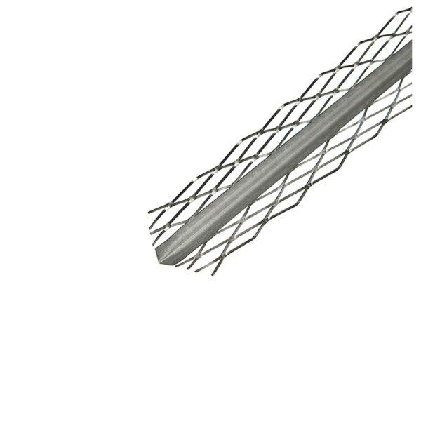 Профиль углозащитный оцинкованный сетчатый 35x35мм, 3 м